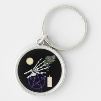 Witch Playthings Silver-Colored Round Key Ring