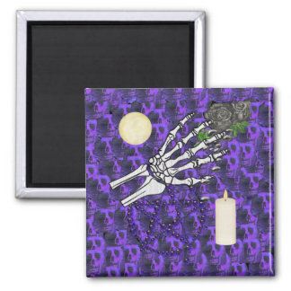 Witch Playthings Square Magnet