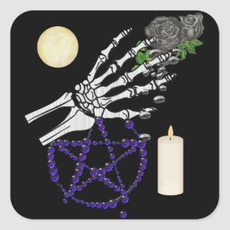 Witch Playthings Square Sticker