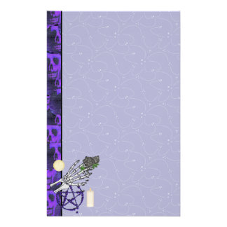 Witch Playthings Stationery Design