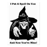 Witch Putting A Spell On You Post Card