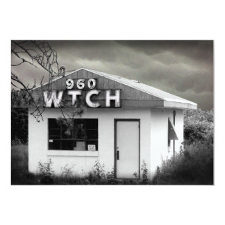 WiTCH RADIO (customizable) 13 Cm X 18 Cm Invitation Card