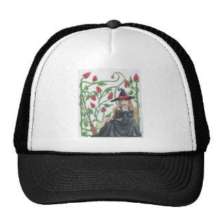 Witch s Broom Trucker Hats