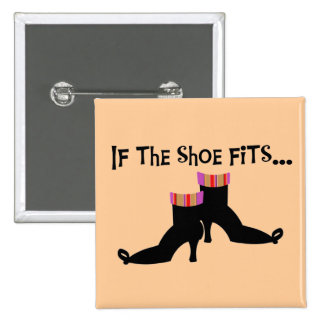 Witch Shoes T-shirts and Gifts Pinback Buttons