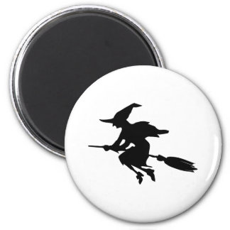 Witch Silhouette Magnet