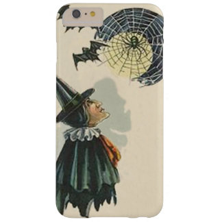 Witch Spider Web Cob Web Bat Full Moon Barely There iPhone 6 Plus Case