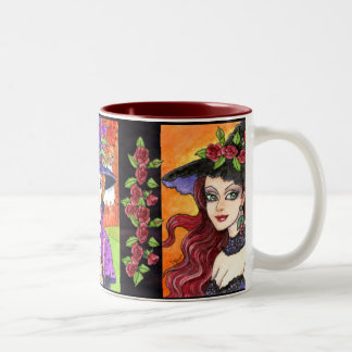 Witch Tea Coffee Mug by Ann Howard