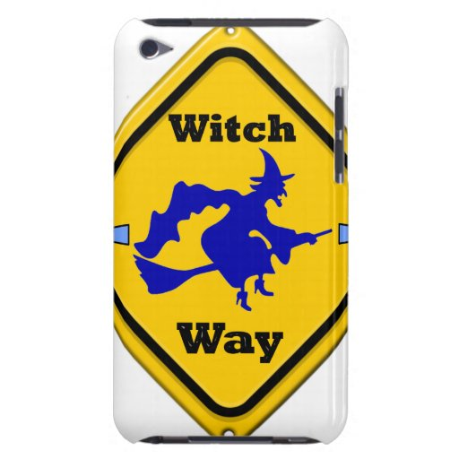 WITCH WAY HALLOWEEN iPod Case-Mate CASE