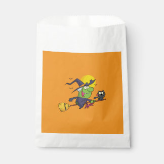 Witch Way To The Party? Halloween Favor Bags