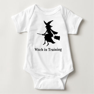 witch, Witch in Training Baby Bodysuit