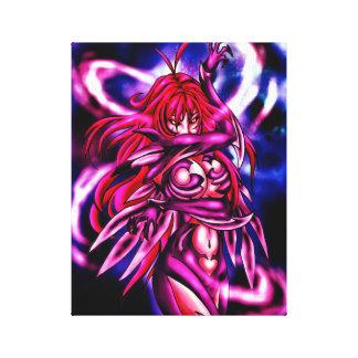 WitchBlade Fan Art Canvas Print