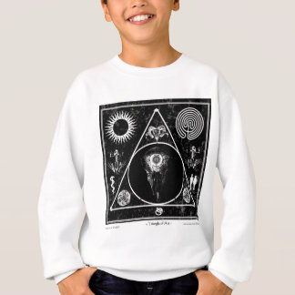 Witchcraft: A Triangle of Art: Skull Sweatshirt