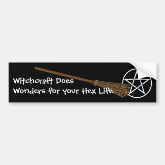 Witchcraft Does Wonders for your Hex Life Bumper Sticker