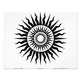Witchcraft Sun Burst 3 Custom Invitations
