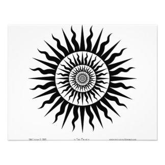 Witchcraft Sun burst Custom Invite
