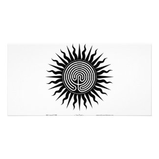 Witchcraft: Sun Burst; Labyrinth #4 Personalized Photo Card