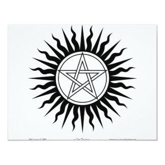 Witchcraft; Sun burst: Pentegram #2 Invites