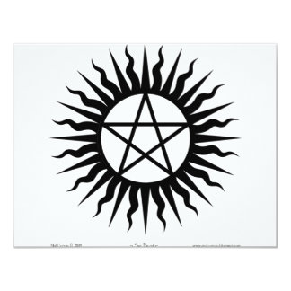 Witchcraft: Sun burst: Pentegram Custom Announcement