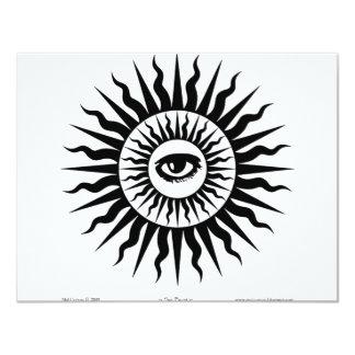 Witchcraft: Sunburst: Eye Personalized Announcements