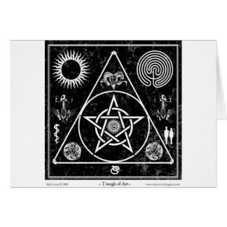 Witchcraft: The Triangle of Art Card