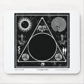 Witchcraft: Triangle of Art; Black Hole Mouse Pad
