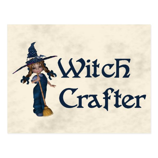 Witchcrafter Postcard