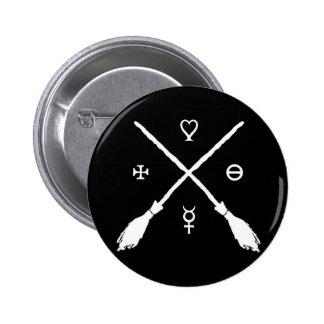 Witchery 6 Cm Round Badge