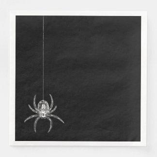 Witches Ball Spider Napkins Disposable Serviette