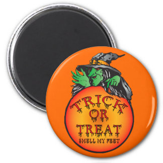 Witches Ball - Trick or Treat Ball 6 Cm Round Magnet