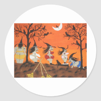 Witches Biggest Loser Stickers