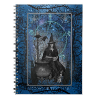 Witches Book of Shadows - Notebook (Blue)