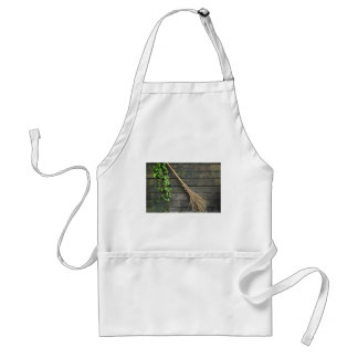 Witches broomstick standard apron