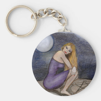 Witches Circle Key Ring