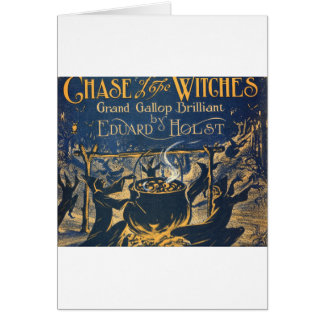 witches coven greeting card