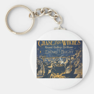 witches coven key ring