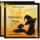 Witches Halloween Enchanting Cocktail Witch Party Card
