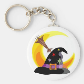 Witches Hat Keychains