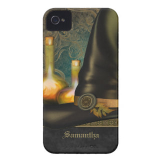 Witches Hat Personalized iPhone 4 Covers
