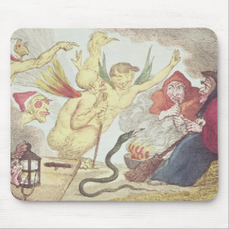 Witches in a Hayloft Mouse Mat
