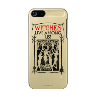 Witches Live Among Us Incipio Feather® Shine iPhone 5 Case