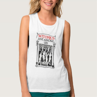Witches Live Among Us Tank Top