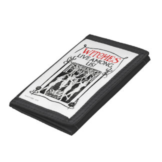 Witches Live Among Us Tri-fold Wallet