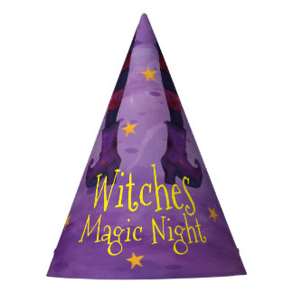 Witches Magic Night Halloween | Party Hats