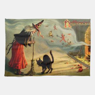 Witches' Magic Tea Towel
