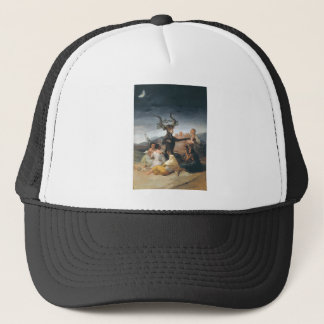Witches Sabbath - Francisco de Goya (1797-1798) Trucker Hat