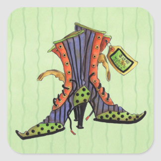 Witches Shoes - Stickers