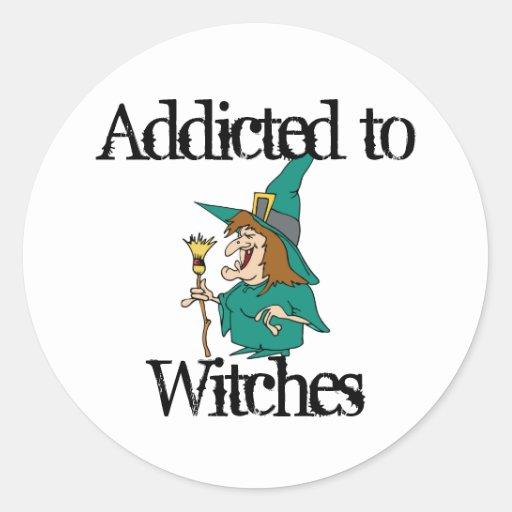 Witches Round Sticker