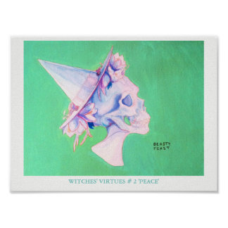 WITCHES' VIRTUES # 2 'PEACE' - poster