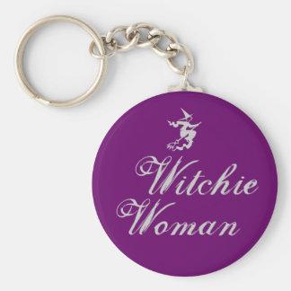 Witchie Woman Keychain