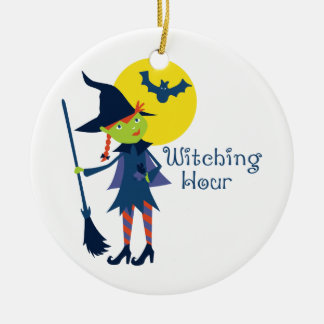 Witching Hour Christmas Ornament